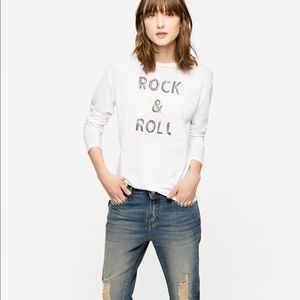 Zadig & Voltaire Willy Lin long sleeve t shirt